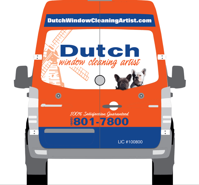 Dutch Window Cleaning Artist Window Cleaning San Luis Obispo County