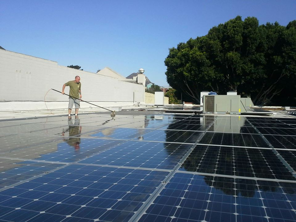 Solar Panel Cleaning Arroyo Grande