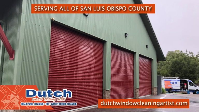 Soft Wash in San Luis Obispo County