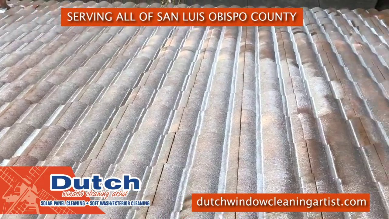 Best Roof Cleaning Service in San Luis Obispo County!