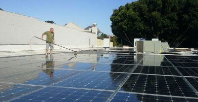 Solar Panel Cleaning | SLO COUNTY
